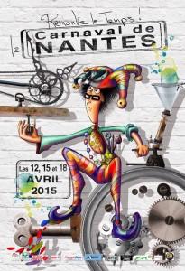 Affiche carnaval de Nantes 2015
